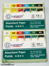 New package in 2015 dental absorbent paper points