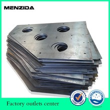 laser cutting metal service cut thin plate with 10mm diameter holes