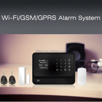wifi home appliances with app smart phone,wireless intruder burglar anti theft alarm system,Workable with RFID wireless keypad