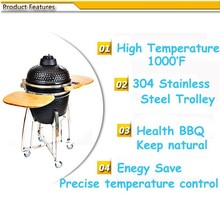 Foldable Charcoal Weber BBQ Grill Clay Fire Pit