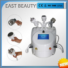 Vacuum 635nm diode laser tripolar rf weight loss machine