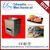Direct factory machines to cut frozen fish with best service
