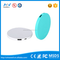 New Type Simple Promotional 2500mAh Circle Power Bank