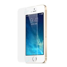 Wholesale Mobile Phone Accessory 9H High Clear Tempered Glass Screen Protector for iPhone 5