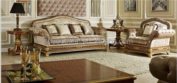 0062 royal furniture classic sofa set home furniture italian antique