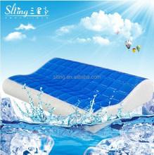 Polyurethane Visco Elastic Sleep innovation contour cool gel memory foam pillow