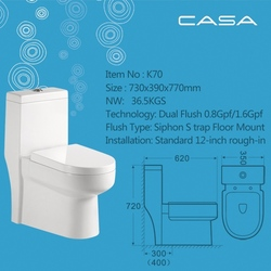 toilet from china supplier siphonic hot selles toilet