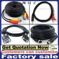 Customers can customize audio video cable rca cable BNC cable vga cable stereo cable 4pin aviation cable