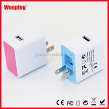 HOT SELLING New! travel charger 5v 1000ma With CE&RoHS