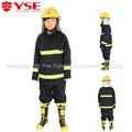 Luz 4 camada de proteção contra incêndio nomex bombeiro usado terno