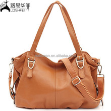 2015 Fashion Ladies Tote Bag Genuine Leather Bag