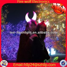 indian wedding gifts for guests business gift Party favor led devil horn hairband