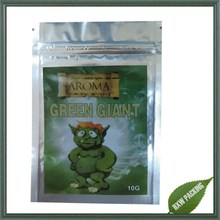 green giant 4g labeled herbal incense potpourri bag for chems ,potpourri herbal incense bag green giant