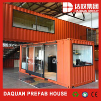 WUHAN DAQUAN Hight Quality Prefab Living Container House From Weidu Company