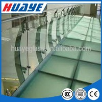 High Safety Tempered Laminated Glass for Commercial Buildings Balustrade Handrail Railing Floor Partition Wall