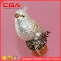 Unique artisanat oiseaux de verre arbre de noël décorations