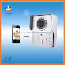 WIFI Visual Intercom Doorbell/Video Door Phone /IP WI-FI Camera For IOS, Android Smart Phones
