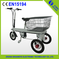Shuangye 3 wheel electric bicycle for adults