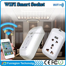 Smart power socket electrical adapter to remote control switch wireless by using phone app
