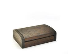 Vintage handmade box small siamese teak wood chest jewelry box trinket case 921