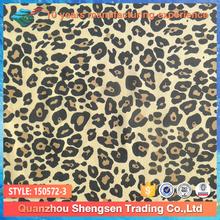 leopard print nylon lycra fabric used for swimwear,beachwear,sportswear