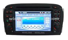 Hot Excellent Touch screen Car dvd gps navigation for Benz SL R230 (2001-2004)