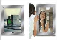 KWS 2012 hot sale top quality magic advertising mirror manufacturer with sensor in home decotarion
