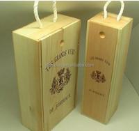 Fashional and Cheaper Pine Wooden Wine Box/Case