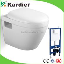 Latest design toilet prices power flush toilet wall hanging