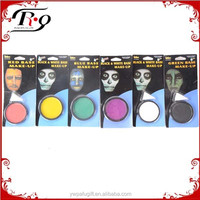 halloween fancy dress party multicolor base make-up face paint