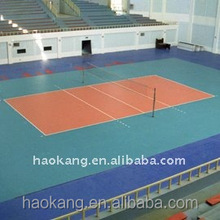 Volleyball PVC sports court covering flooring