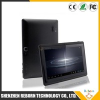 Shenzhen colorful 7 inch tablet android 4.4 A33 wifi tablet with Bluetooth