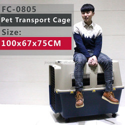 air transport Kennel for each size Pets , loading from 22 to 110Pound, dark blue