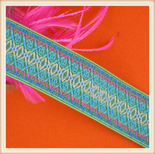 High quality Jacquard elastic tape for garments dress and bags for whole sale made in China