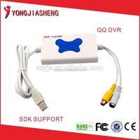 Manufacturer price 4 channel usb 2.0 dvr video audio capture adapter easycap TV-102DVR