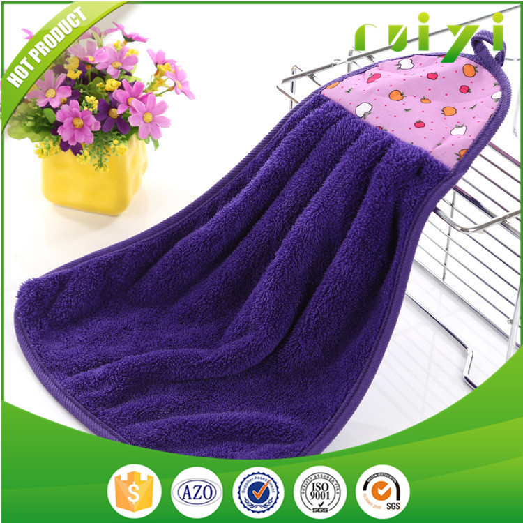 Wholesale Promotional Cheap Hand Towel Coral Fleece ...