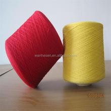 new hot 65/35 polyester cotton yarn dyed cotton yarn export import to abroad recycled cotton yarn