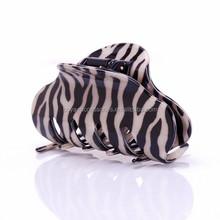 Fashion style turtle zebra stripe multi color mini hair claw clip
