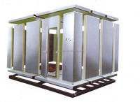 quick freezing freezer cold storage room for meat and fish