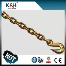 G43 Chain With Clevis / eye grab hooks 5/16''*16FT