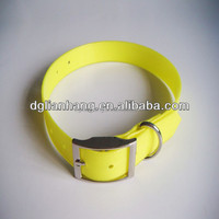 Waterproof soft tpu/pvc dog collar