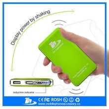 12000mAh high quality Shaking cute portable phone charger