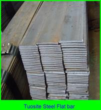 Fábrica ofrecen 10 mm acero barra plana plana barra de acero con diferentes tamaño