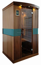 2 person portable infrared sauna room with ceramic heater parts