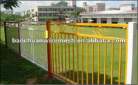 Unique designs for steel fence widely used in home and garden