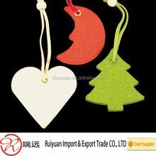 2014 New hotsale items fashion China product handmade hanging ornament felt Christmas decorations wholesale