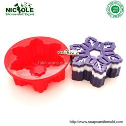 B0149 Nicole Christmas handmade cake decoration silicone cake molds factory