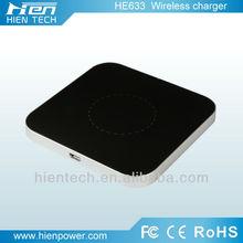 2014 inalámbrica del teléfono móvil cargador de batería de ultra delgada de inducción 8mm cargador micro usb wirelss cargador