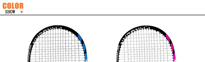 Composto raquete de tênis com logotipo personalizado e Design