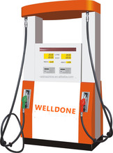 Fuel Dispenser/Fashion Series Orange Fuel Dispenser-2
